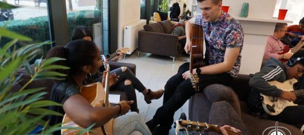 Guitar lessons Jam in London