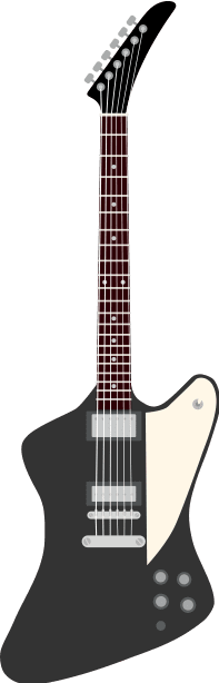 9. firebird modern rock gibson electric guitar