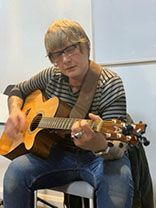 Mark acoustic guitar lessons guitar tuition east london
