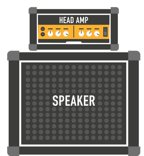 accessories head amp speaker for guitar