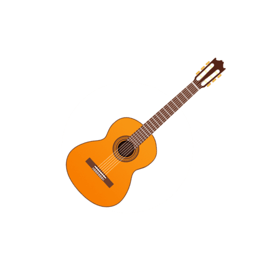 Classical nylon acoustic guitar