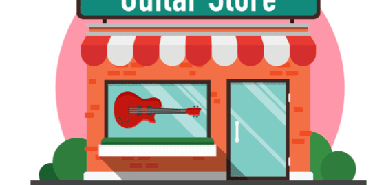 Buying first guitar at guitar stores