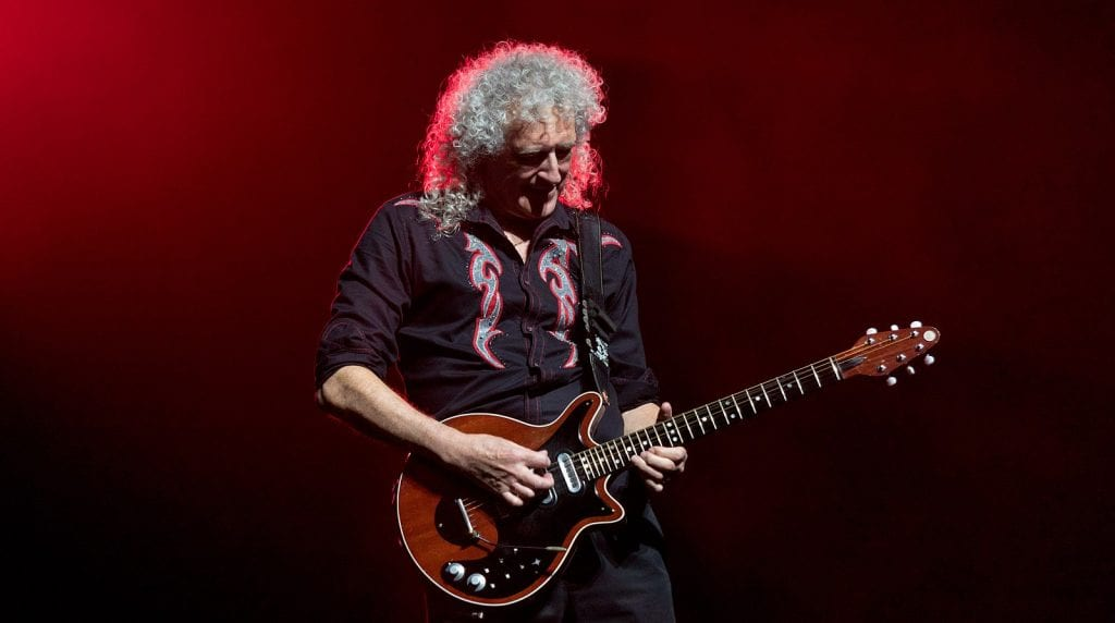 Brian May red guitar