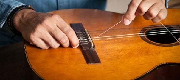 changing guitar strings looking after your guitar