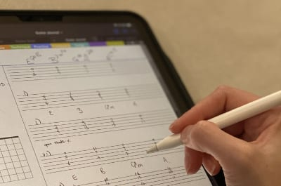 ipad goodnotes guitar tab