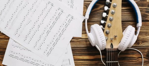 Song sheet music guitar