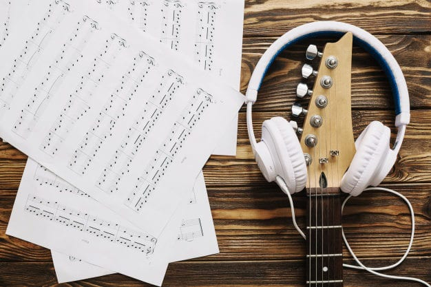 Song sheet music guitar