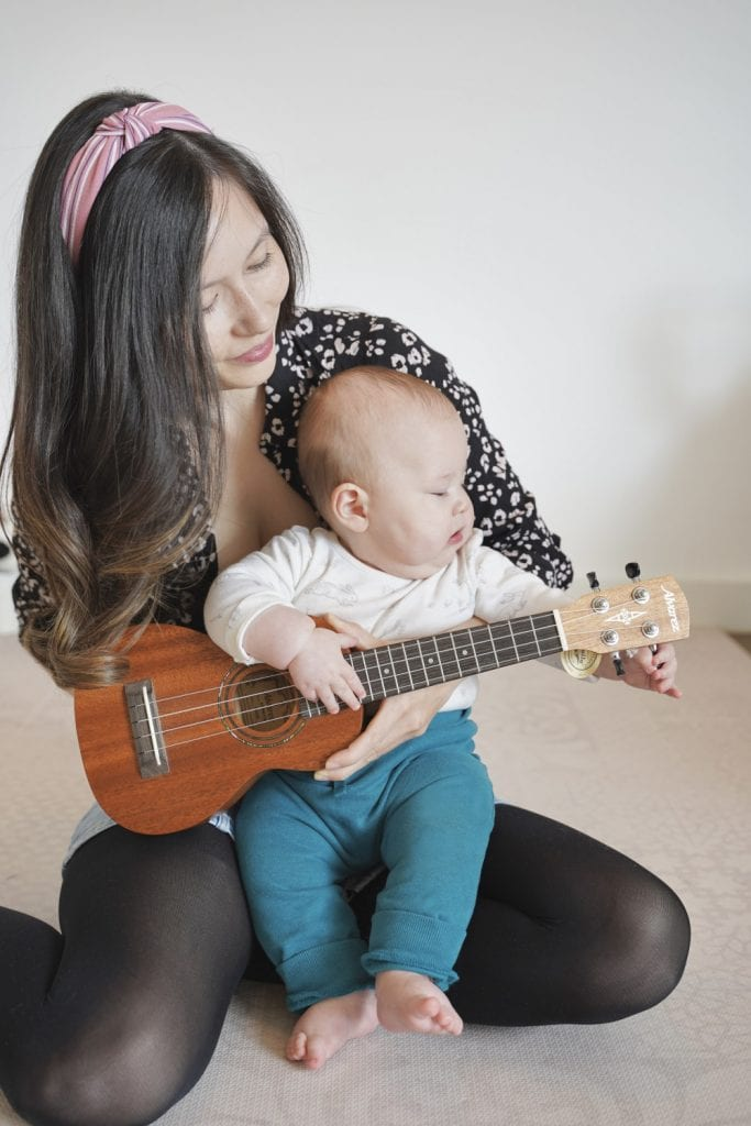Jen baby toddler classes guitar tuition East London